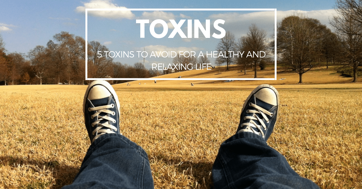 5 Toxins to Avoid for a Healthy and Relaxing Life
